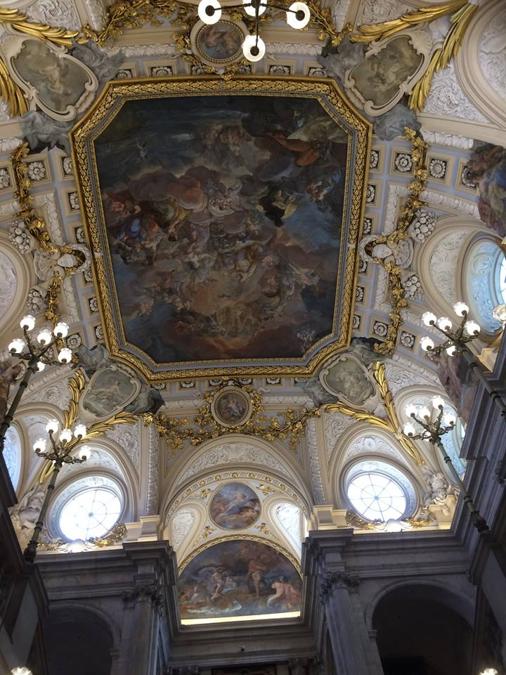 ceiling painting madrid
