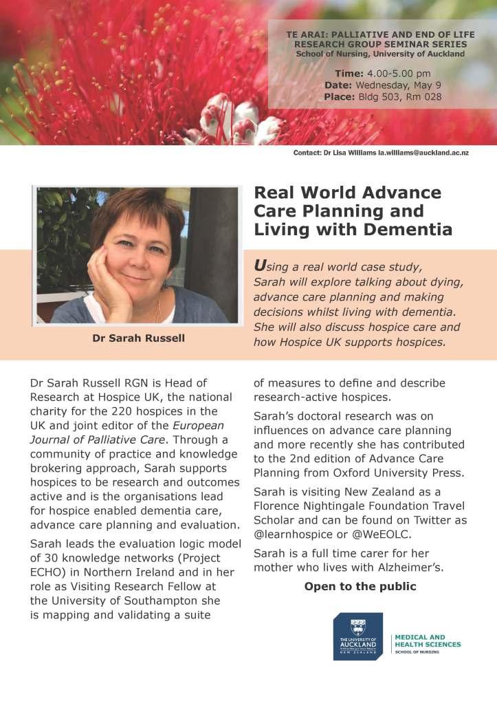 Sarah Russell-2018 Te Arai research seminar series3